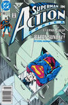 Cover for Action Comics (DC, 1938 series) #665 [Newsstand]