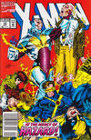 Cover for X-Men (Marvel, 1991 series) #12 [Newsstand Edition]