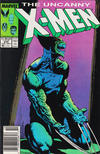 Cover Thumbnail for The Uncanny X-Men (1981 series) #234 [Newsstand]
