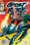 Cover for Ghost Rider (Marvel, 1990 series) #29 [Newsstand Edition]