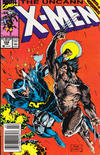 Cover Thumbnail for The Uncanny X-Men (1981 series) #258 [Newsstand Edition]