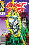 Cover Thumbnail for Ghost Rider (1990 series) #30 [Newsstand Edition]