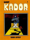 Cover for Kador (Yendor, 1983 series) #1