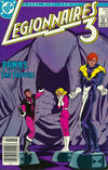 Cover for Legionnaires Three [Legionnaires 3] (DC, 1986 series) #2 [Newsstand]