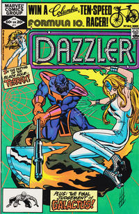 Cover Thumbnail for Dazzler (Marvel, 1981 series) #11 [Direct Edition]