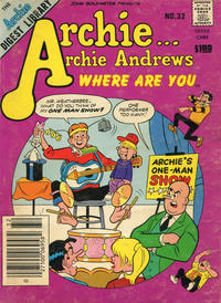 Cover Thumbnail for Archie... Archie Andrews Where Are You? Comics Digest Magazine (Archie, 1977 series) #32