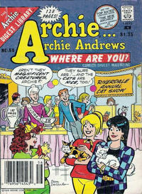 Cover Thumbnail for Archie... Archie Andrews Where Are You? Comics Digest Magazine (Archie, 1977 series) #56