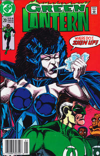 Cover Thumbnail for Green Lantern (DC, 1990 series) #20 [Newsstand]