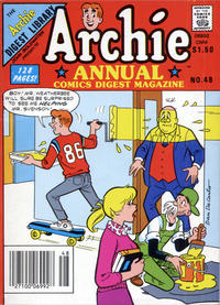 Cover Thumbnail for Archie Annual Digest (Archie, 1975 series) #48 [Canadian Newsstand]
