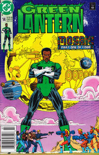 Cover Thumbnail for Green Lantern (DC, 1990 series) #14 [Newsstand]
