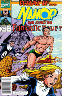 Cover Thumbnail for What If...? (Marvel, 1989 series) #27 [Newsstand]