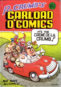 Cover Thumbnail for R. Crumb's Carload O'Comics (Bélier Press, Inc.; Kitchen Sink Press, Inc., 1996 series)