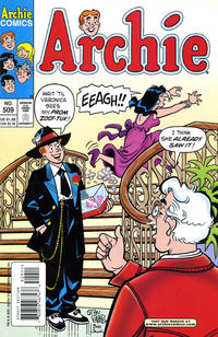 Cover Thumbnail for Archie (Archie, 1959 series) #509 [Direct]