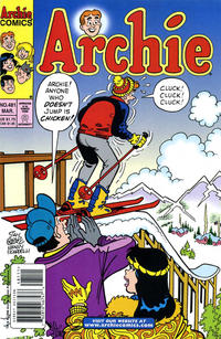 Cover Thumbnail for Archie (Archie, 1959 series) #481 [Direct Edition]