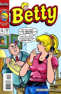 Cover Thumbnail for Betty (Archie, 1992 series) #125 [Direct Edition]