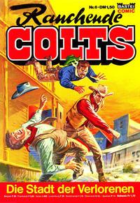 Cover Thumbnail for Rauchende Colts (Bastei Verlag, 1977 series) #6