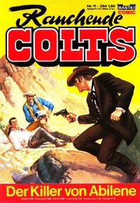 Cover Thumbnail for Rauchende Colts (Bastei Verlag, 1977 series) #11