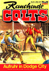 Cover Thumbnail for Rauchende Colts (Bastei Verlag, 1977 series) #13