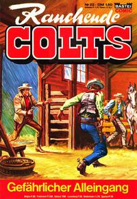 Cover Thumbnail for Rauchende Colts (Bastei Verlag, 1977 series) #22