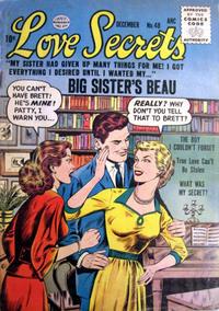 Cover Thumbnail for Love Secrets (Quality Comics, 1953 series) #48