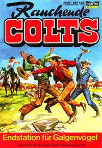 Cover Thumbnail for Rauchende Colts (Bastei Verlag, 1977 series) #27