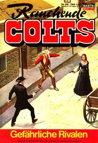 Cover Thumbnail for Rauchende Colts (Bastei Verlag, 1977 series) #28