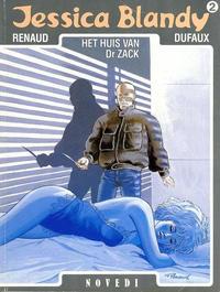 Cover Thumbnail for Jessica Blandy (Novedi, 1987 series) #2 - Het huis van Dr Zack