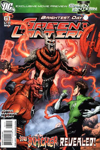 Cover Thumbnail for Green Lantern (DC, 2005 series) #61 [Standard Cover]