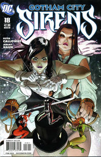 Cover Thumbnail for Gotham City Sirens (DC, 2009 series) #18