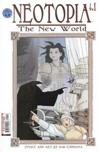 Cover Thumbnail for Neotopia Vol. 4 The New World (Antarctic Press, 2004 series) #1 (4.1)