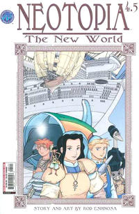 Cover Thumbnail for Neotopia Vol. 4 The New World (Antarctic Press, 2004 series) #5 (4.5)