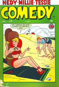 Cover Thumbnail for Comedy Comics (Marvel, 1948 series) #9