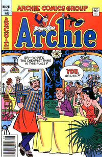 Cover Thumbnail for Archie (Archie, 1959 series) #281