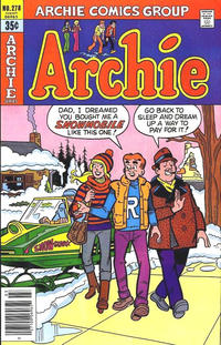 Cover Thumbnail for Archie (Archie, 1959 series) #278