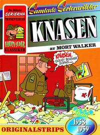 Cover Thumbnail for De bästa serierna (Semic, 1986 series) #1987, Knasen [4]