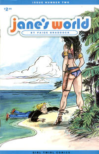 Cover Thumbnail for Jane's World (Girl Twirl Comics, 2002 series) #2