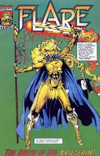 Cover Thumbnail for Champions / Flare Adventures (Heroic Publishing, 1992 series) #12