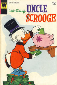Cover Thumbnail for Uncle Scrooge (Western, 1963 series) #98 [Whitman]