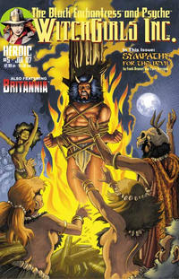 Cover Thumbnail for Witchgirls Inc. (Heroic Publishing, 2005 series) #5 [Cover A]
