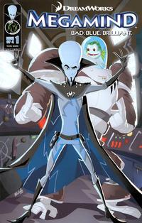 Cover Thumbnail for DreamWorks' Megamind: Bad. Blue. Brilliant (Ape Entertainment, 2010 series) #1