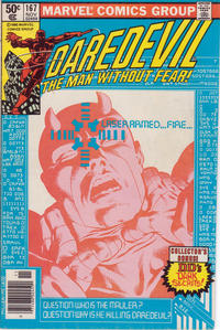 Cover Thumbnail for Daredevil (Marvel, 1964 series) #167 [Newsstand]