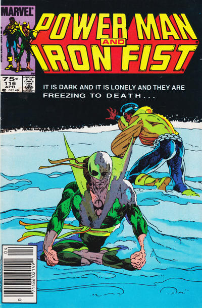 Cover for Power Man and Iron Fist (Marvel, 1981 series) #116 [Canadian newsstand edition]