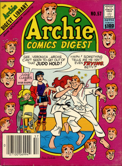 Cover for Archie Comics Digest (Archie, 1973 series) #57
