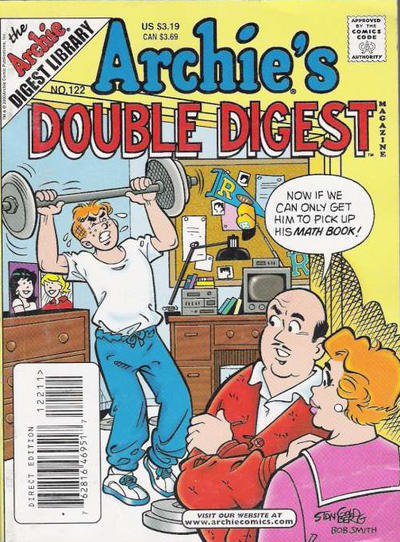 Cover for Archie's Double Digest Magazine (Archie, 1984 series) #122