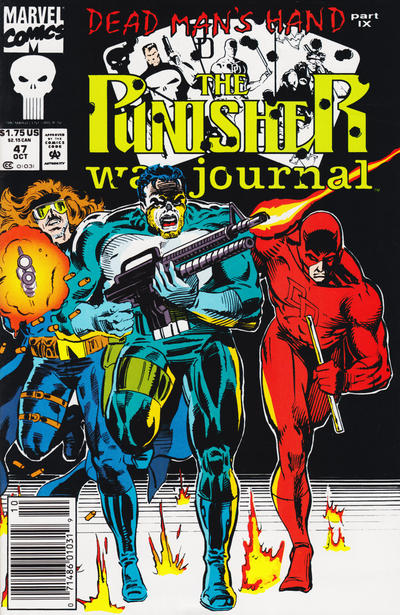 Cover for The Punisher War Journal (Marvel, 1988 series) #47 [Direct]