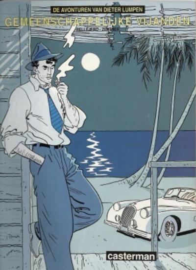 Cover for De avonturen van Dieter Lumpen (Casterman, 1988 series) #1
