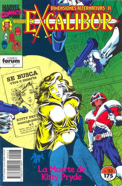 Cover for Excalibur (Planeta DeAgostini, 1989 series) #23