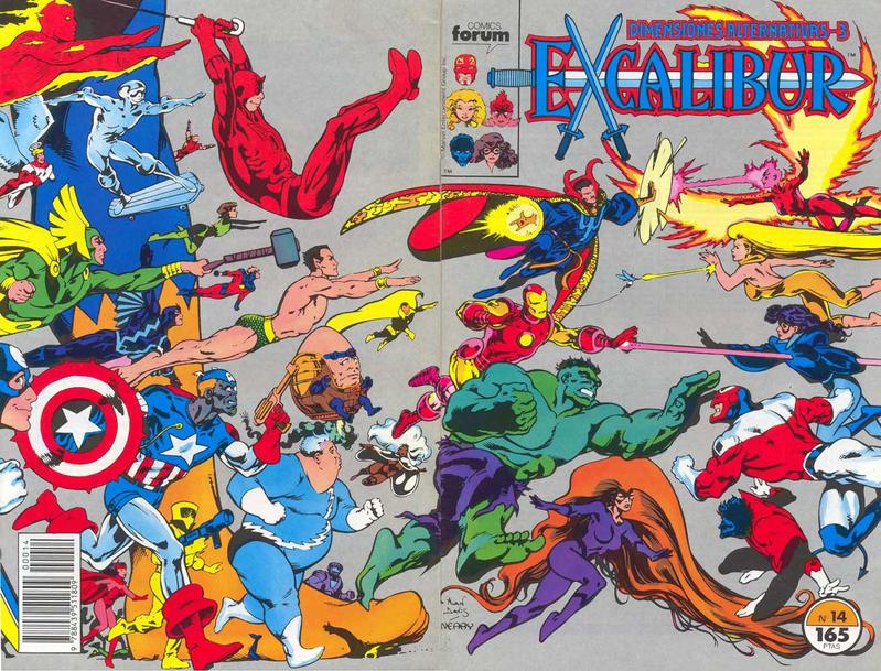 Cover for Excalibur (Planeta DeAgostini, 1989 series) #14
