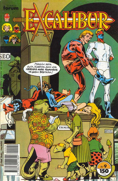 Cover for Excalibur (Planeta DeAgostini, 1989 series) #9