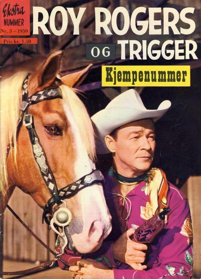Cover for Roy Rogers (Serieforlaget / Se-Bladene / Stabenfeldt, 1954 series) #3/1959